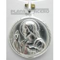 Medalla Plata Escapulario