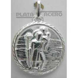 Medalla Plata San Cristobal