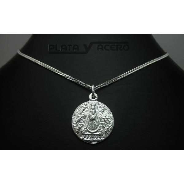 5db30fdc9bbf Medalla Plata Virgen de Begoña - Comprar cadenas