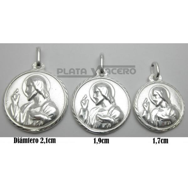 92717d8e0 Medalla Plata Escapulario Haunditu. Aurrekoa. Hurrengoa