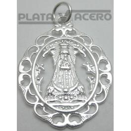 Colgante Plata Virgen de Begoña