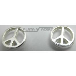 Pendiente Plata Paz