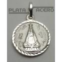 Medalla Plata Virgen de Begoña Escapulario